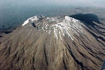 Mount Kilimanjaro as it hasn't been seen in 11,000 years
