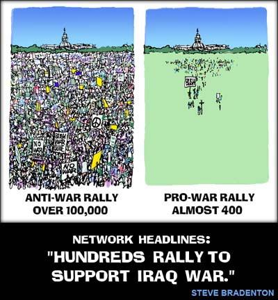 Anti-War Rally News